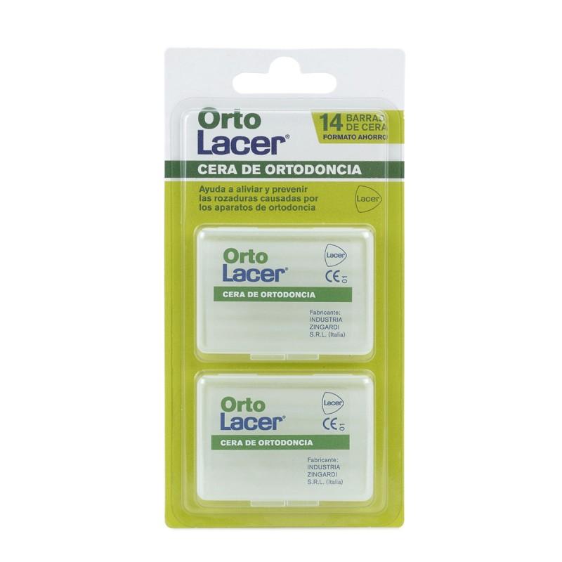 Orto Lacer Cera Ortodoncia 2 Uds