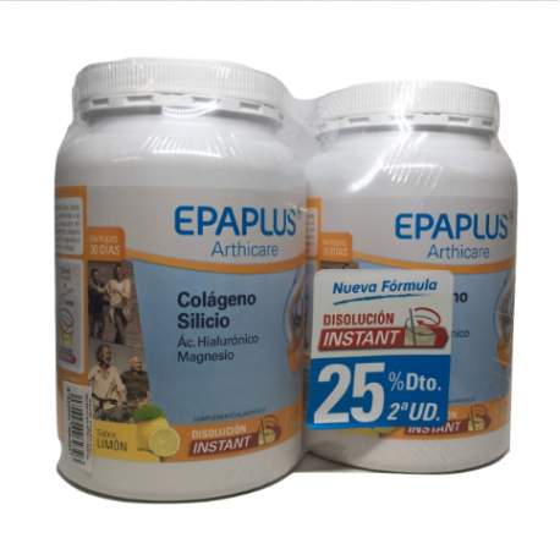 Epaplus Duplo Colágeno + Magnesio Limón 2 x 334