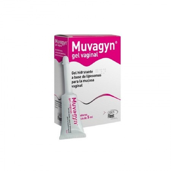 Muvagyn Gel Hidratante Vaginal 5 Ml 8 Monodosis