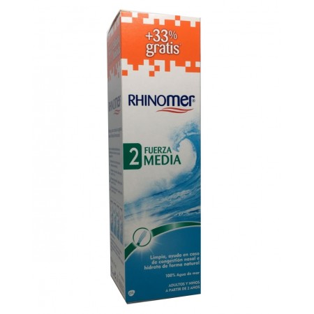 Rhinomer Fuerza 2 XL 180 Ml 33% Gratis