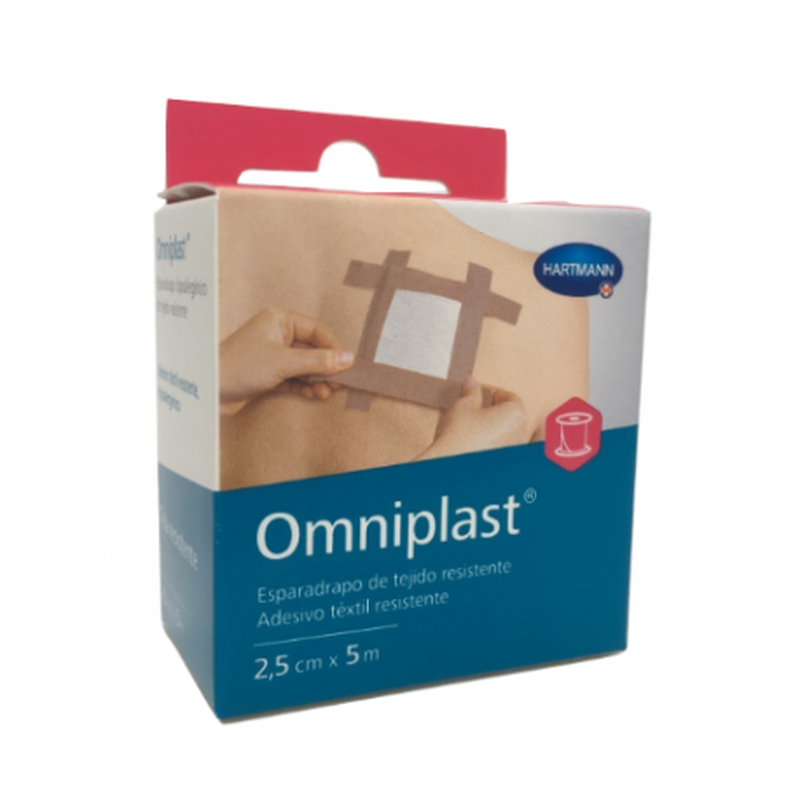 Esparadrapo Omniplast Rosa 5 x 2,5
