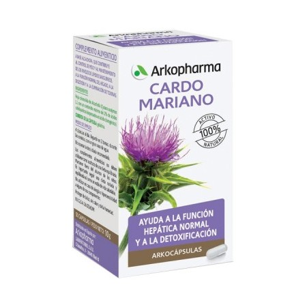 Cardo Mariano Arkopharma 300 Mg 100 Caps