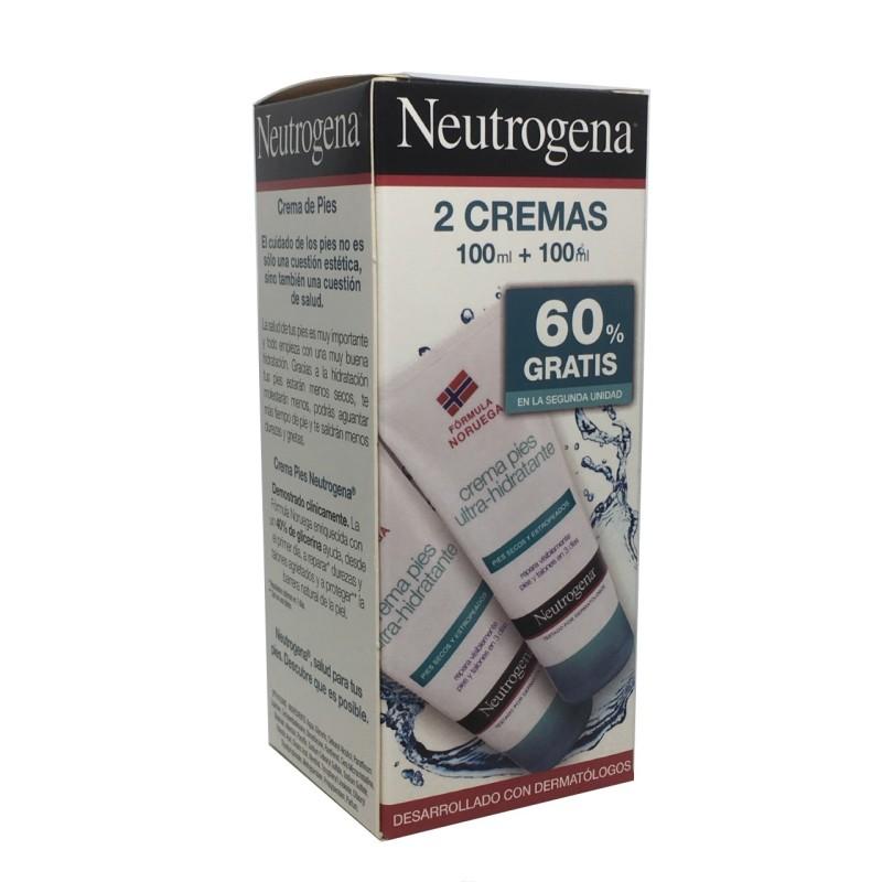 Neutrogena Pack Pies 100 + 100 Ml