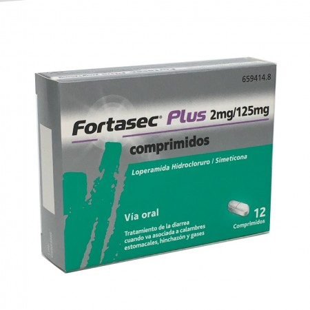 Fortasec Plus 2/125 Mg 12 Comp