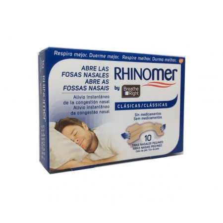 Rhinomer Breath Right Peq/Med 10 Uds