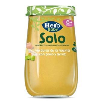 Hero Baby Solo Verduras Con Pollo Y Arroz 190 G