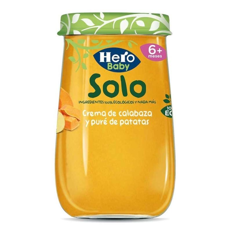 Hero Baby Solo Crema Calabaza Y Pure Patatas 190