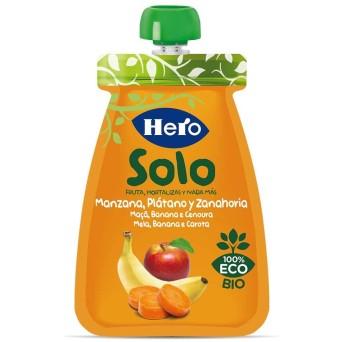 Hero Baby Solo Manzana, Platano Y Zanahoria 100