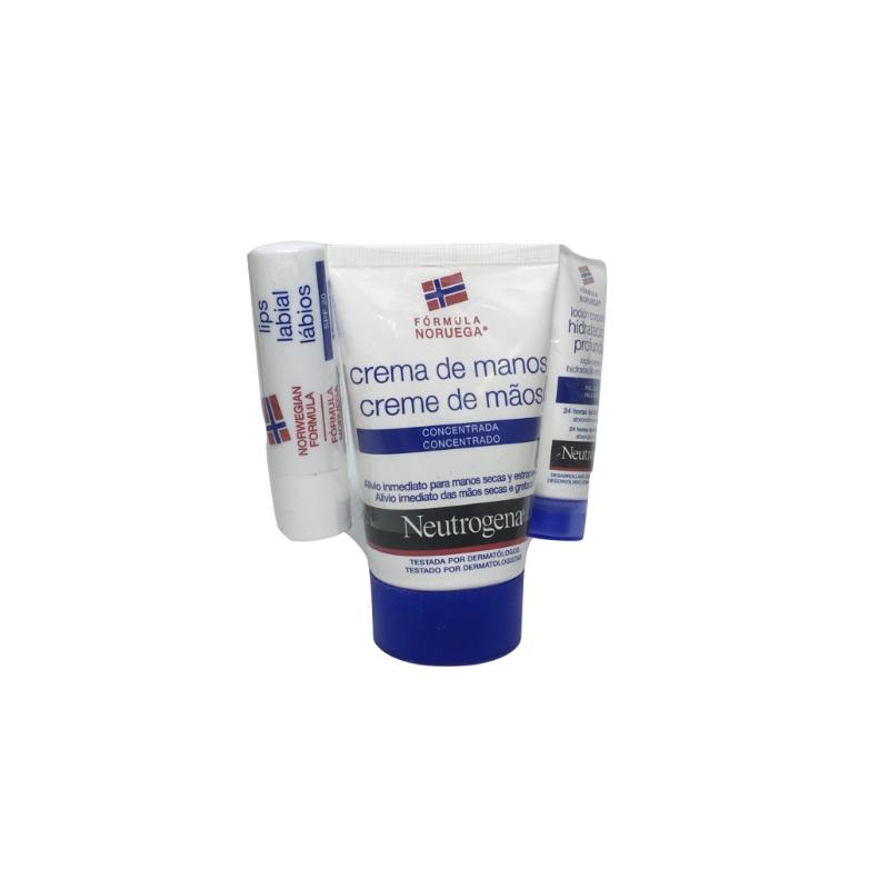 Neutrogena Manos 50 Ml + Labial + Loción 15 Ml